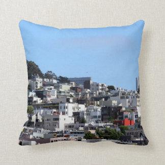 San Francisco Coit Tower Throw Pillow