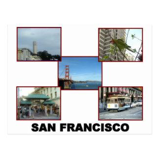 San Francisco collage #2 Postcard