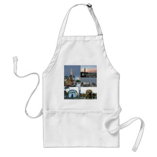 San Francisco Collage Adult Apron