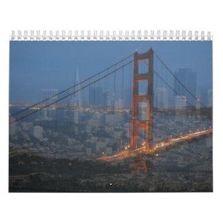 San Francisco  Collage Calendar