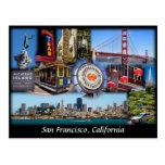 San Francisco Collage Postcard