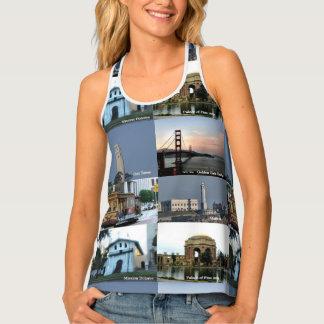 San Francisco Collage Tank Top