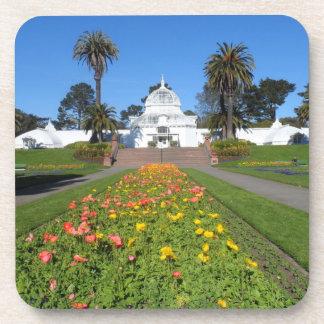 San Francisco Conservatory of Flowers Beverage Coaster
