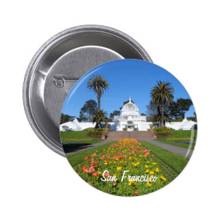 San Francisco Conservatory of Flowers Button