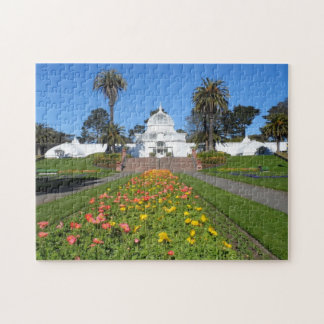 San Francisco Conservatory of Flowers Jigsaw Puzzle