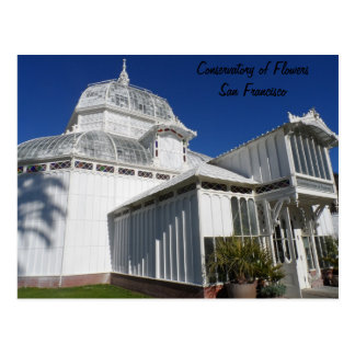 San Francisco Conservatory of Flowers Postcard