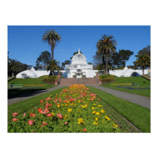San Francisco Conservatory of Flowers Poster