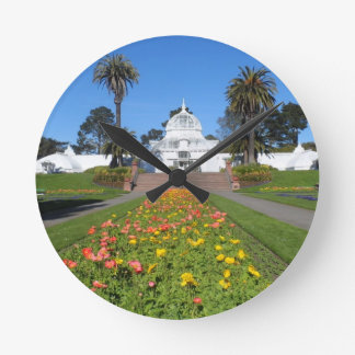 San Francisco Conservatory of Flowers Round Clock