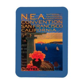 San Francisco, convenio de CaliforniaN.E.A. Iman Rectangular