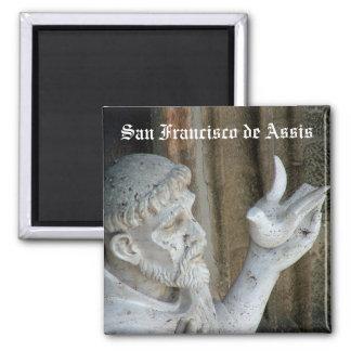 San Francisco de Asis Imán Cuadrado