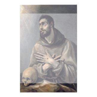 """San Francisco de El Greco Folleto 5.5"""" X 8.5"""""""