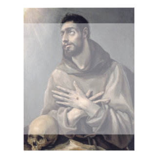 """San Francisco de El Greco Folleto 8.5"""" X 11"""""""