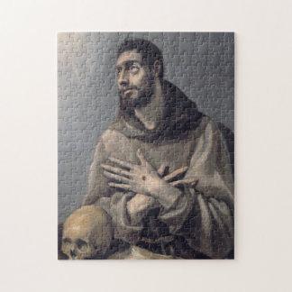 San Francisco de El Greco Rompecabezas