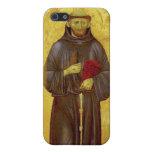 San Francisco de la iconografía medieval de Assiss iPhone 5 Carcasas