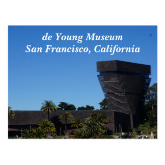 San Francisco de Young Museum Postcard