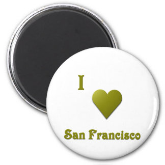 San Francisco -- Deep Green Magnets