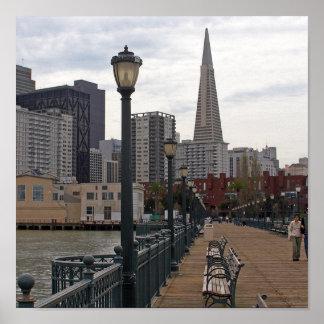 San Francisco del embarcadero 39 Póster