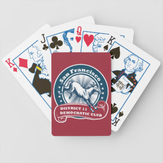 San Francisco District 11 Democratic Playing Cards
