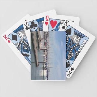 San Francisco Dock at Fisherman's Wharf Bicycle Playing Cards