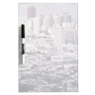 San Francisco Dry Erase White Board