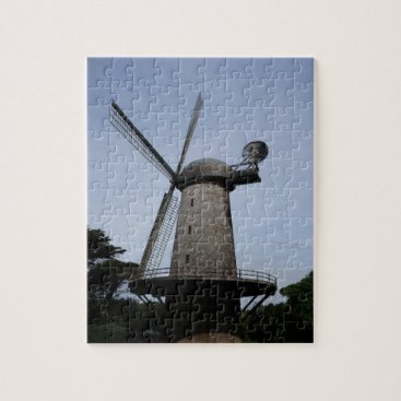 everydaylifesf San Francisco Dutch Windmill Jigsaw Puzzle