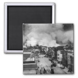 San Francisco Earthquake 2 Inch Square Magnet