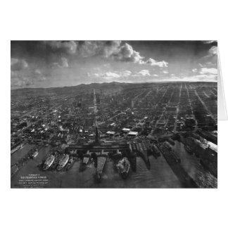 San Francisco Earthquake Ruins of 1906 Panorama Card