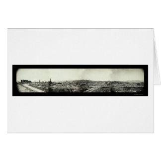 San Francisco Earthquake Ruins Photo 1906 Card