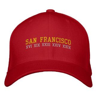 San Francisco Embroidered Baseball Cap