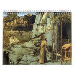 San Francisco en el desierto de Juan Bellini Calendario De Pared
