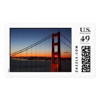 San Francisco en la salida del sol Sello