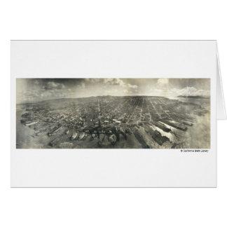 San Francisco en ruinas, 1906 Felicitacion