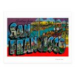 San Francisco, escenas de la letra de Tarjeta Postal