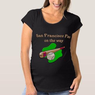 San Francisco Fan on the way T-shirt