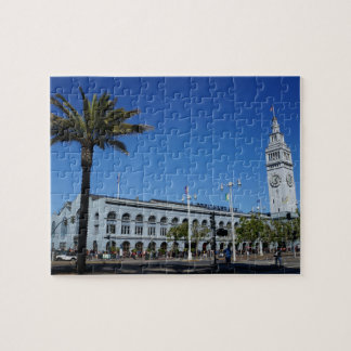 San Francisco Ferry Building #2 Jigsaw Puzzle