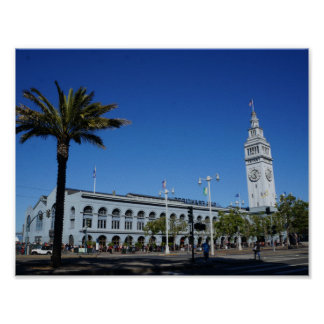 San Francisco Ferry Building #2 Poster