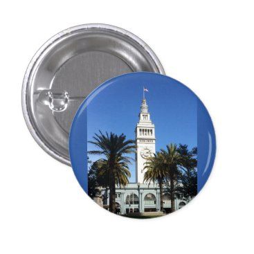 everydaylifesf San Francisco Ferry Building #3 Pinback Button
