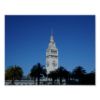 San Francisco Ferry Building #4 Poster