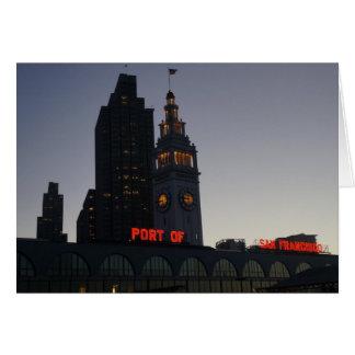 San Francisco Ferry Building #7 Card