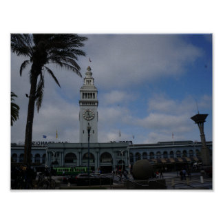 San Francisco Ferry Building #9 Poster