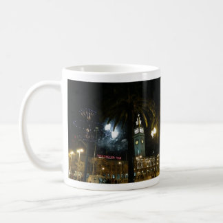 San Francisco Ferry Building Fireworks Mug