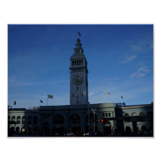 San Francisco Ferry Building Poster