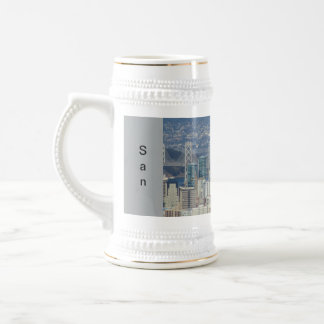 San Francisco Financial District Beer Stein