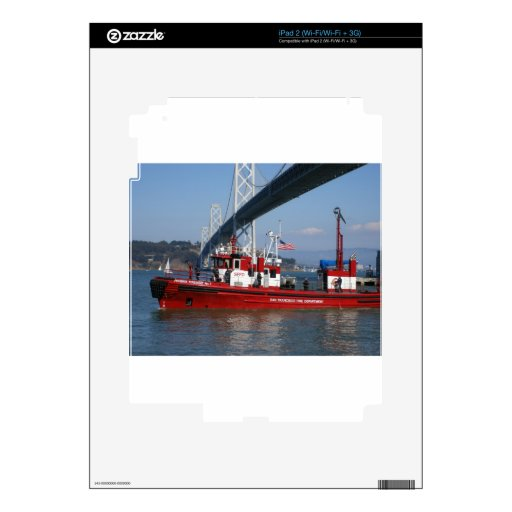 San Francisco Fire Boat Skins For The iPad 2