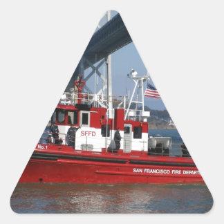 San Francisco Fire Boat Sticker