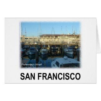 San Francisco Fisherman's wharf Greeting Card