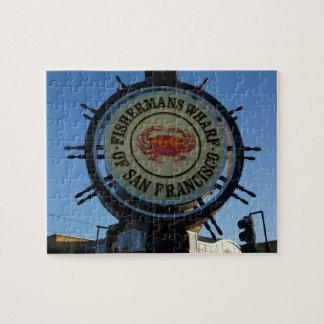 San Francisco Fishermans Wharf Jigsaw Puzzle