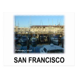 San Francisco Fisherman's wharf Post Card