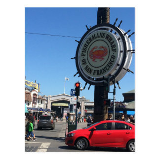 San Francisco Fisherman's Wharf Postcard