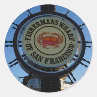 San Francisco Fishermans Wharf Stickers